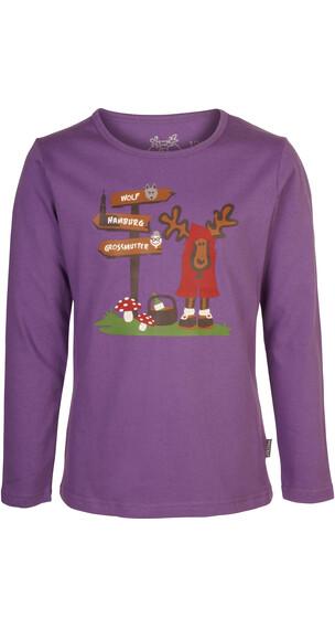 Elkline Rotelkchen Pullover violet